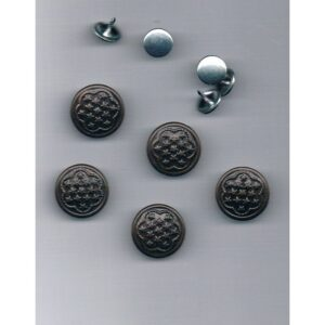 Boutons Jeans bronze