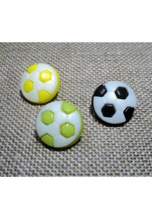 Bouton enfant ballon de foot