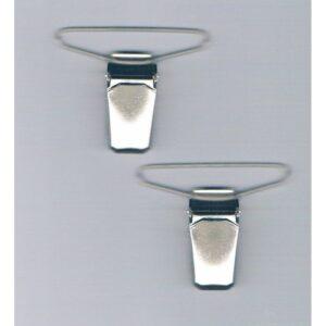Clips pinces bretelles 40 mm (2), argenté Koh i Noor