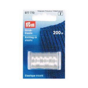 Elastique tricoté transparent