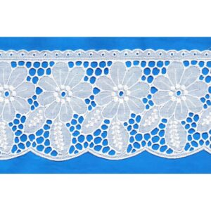 Broderie Anglaise blanc
