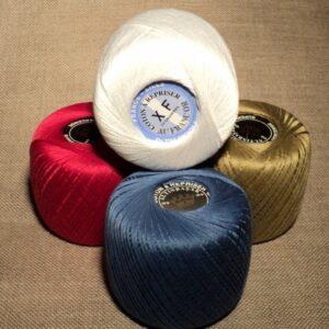 Coton à repriser