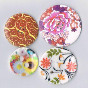 Boutons décoratifs