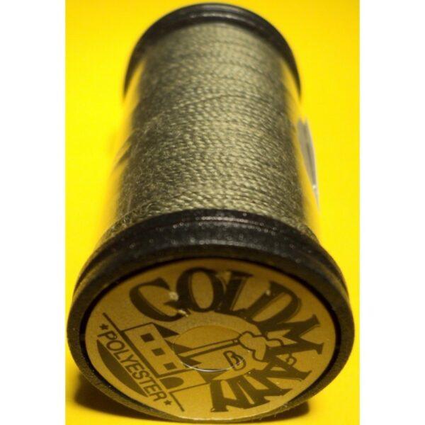 """Fil cordonnet vert chasse Mini Goldmann """"EXTRA FORT"""" nr 40, bobine 30m, très résistantes, machine et main"""