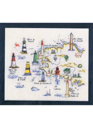 Les phares bretons 50x60cm Aïda 7