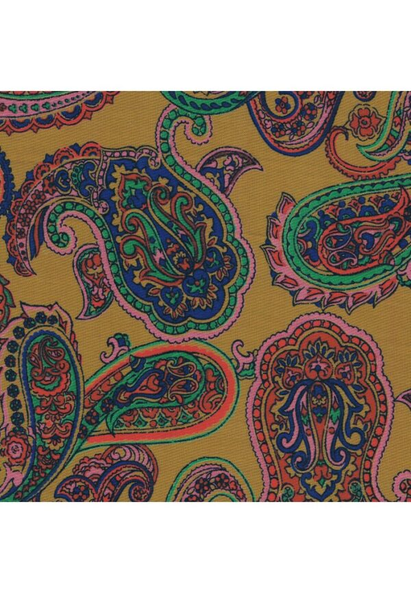 Coupon tissu loisirs creatifs 25x45cm Cachemire
