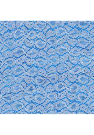 Coupon tissu loisirs creatifs 25x45cm Dentelle blanc