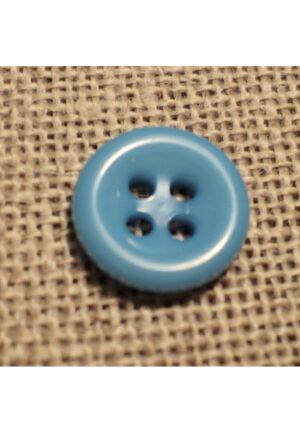 Bouton bleu ciel 11mm 4-trous Bouton Bébé, chemise, button down