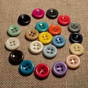 Boutons 11mm 4-trous