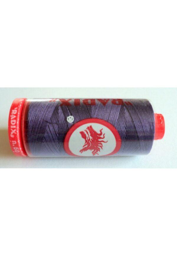 Fil Coton Radix violet, 500 yards Nr.50 ( 457 mètres) fil coton machine à coudre, machine broderie, fil à quilter