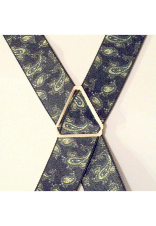 Bretelles hommes fantaisie Grande Taille, 120 cm, à pinces clips XL- XXL, marine