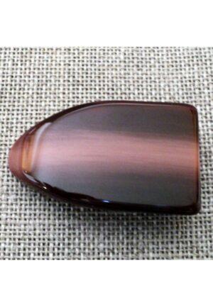 Bouton buchette manteau galalithe bordeaux marbre 37mm
