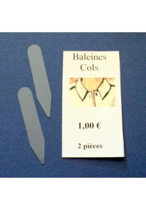 Baleines Cols 2 pièces