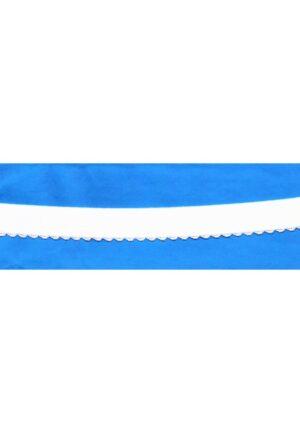 Elastique bretelle blanc 20mm pour soutien gorge, lingerie, dentelle crochet, vendu au mètre