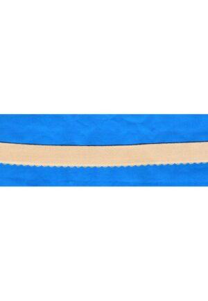 Elastique bretelle écru chair 20mm pour soutien gorge, lingerie, dentelle crochet , vendu au mètre