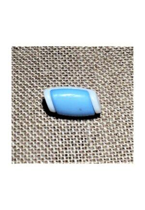 Bouton buchette mini bleu clair 15mm, kabig, gilet, vest pour les enfants et les bébés
