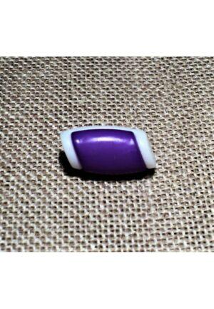 Bouton buchette mini violet 15mm, kabig, gilet, vest pour les enfants et les bébés