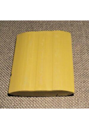 Craie tailleur jaune, craie couture jaune
