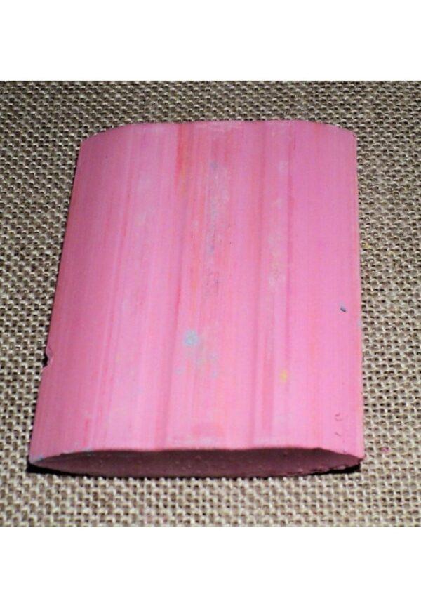 Craie tailleur rose, craie couture rose