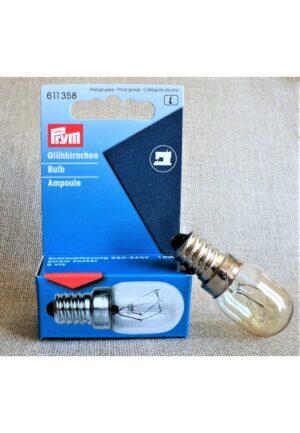 Ampoule à vis 15W pour la machine à coudre-surjeteuse, Prym, 220-240V, 611358