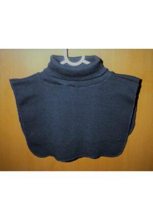 Faux Col marine roulé femme/homme, chaud plastron tricoté détachable