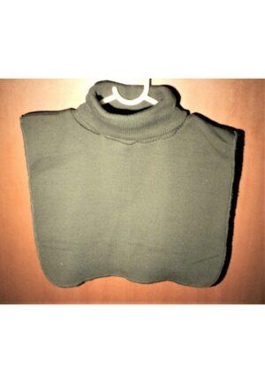 Faux Col vert chasse roulé femme/homme, chaud plastron tricoté détachable