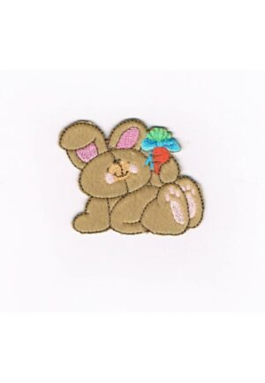 Ecusson Forever Friends Thermocollant le lapin