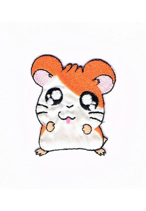 Ecusson Hamtaro, le petit hamster Thermocollant