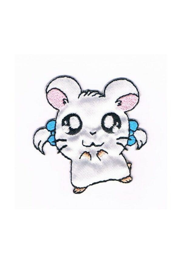 Ecusson Hamtaro, le petit hamster Bijou Thermocollant