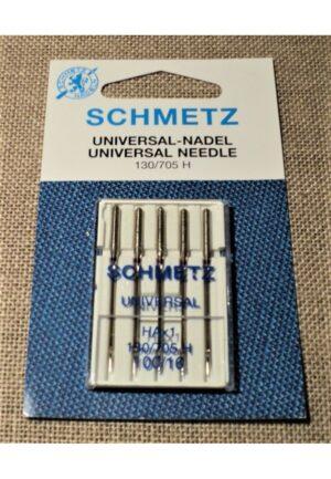 Schmetz Aiguilles nr.100 universal pour la machine à coudre STANDARD, 130/705H