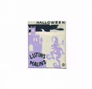 Ecusson à coudre Halloween 5.0x6.3cm