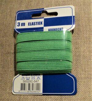 Elastique souple et plat, Vert pomme 10mm, emballé par 3 mètres, pour lingerie, masques, bande bretelles robes etc
